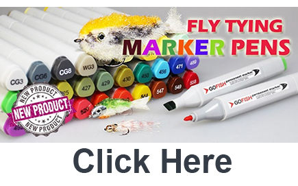 Buy Fly Tying Marker Pens from GoFish, Sponsor of The Virtual Irish Fly Fair 2020