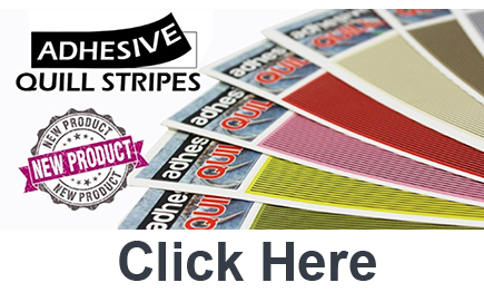 Adhesive Quill Strips from GoFish Sponsors of The Virtual Irish Fly Fair 2020